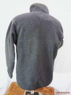 Snap T pullover Synchilla fleece Top Jacket M. Dark Gray.*