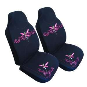 2 Front Bucket Car Seatcover & Universal Car Seat Cover