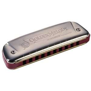 Golden Melody Harmonica Musical Instruments