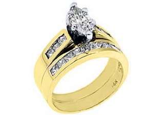5CT WOMENS DIAMOND ENGAGEMENT RING WEDDING BAND BRIDAL SET MARQUISE