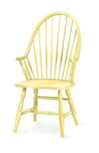 Eco Friendly Chappy Windsor ARM CHAIR Solid Hevea Wood 30 Painted