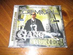 Chicano Rap CD Mr Criminal   Gang Stories   2 Disc Set   West Coast
