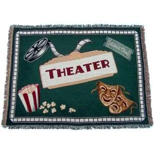 Deluxe Home Theater Blanket Home & Kitchen