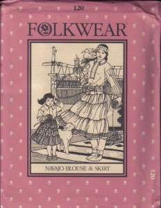 Folkwear Sewing Pattern Ethnic Costume ~ Free Shipping ~ Your Choice
