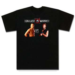 Chuck Liddell VS Chuck Norris Deadliest WarriorT Shirt