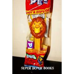 Lionfather on Amazon Com  Mufasa Simba S Father The Lion King Pez Dispenser