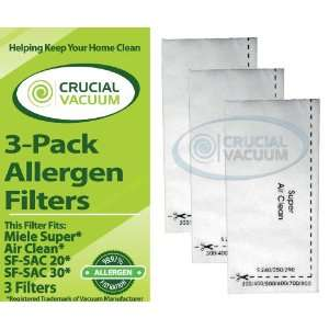 com High Quality Replacement 3 Pack Allergen Super Air Clean Filters