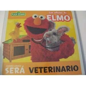 Plaza Sesamo Los Oficios de Elmo Libro del Rompecabezas