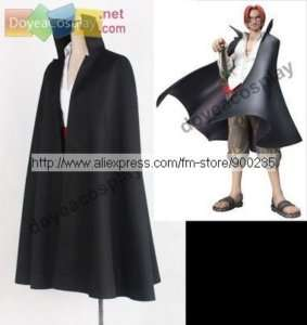 ONE PIECE Red haired Shanks COSPLAY COSTUME Anime