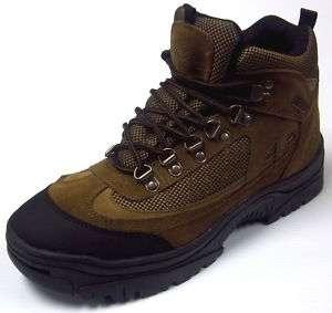 Itasca  Mens Waterproof Hiking Boot Dark Brown |