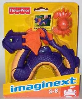 Fisher Price Imaginext Castle   Purple Sea Serpent