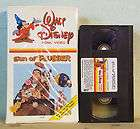 1980s Walt Disney Home Video SON of FLUBBER VHS 211VS White Clamshell