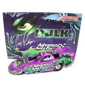 Cruz Pedregon Diecast Hulk 1/24 2003 Autographed Toys