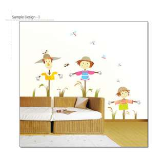 SCARECROWS Mural Art Wall Sticker Decal Decor Removable