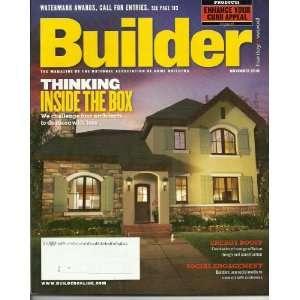 Builder Magazine ~ November 2010 ~ Enhance Your Curb Appeal