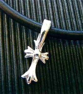 PMC Silver Clay Kit DIY Leather Cross Crucifix Necklace