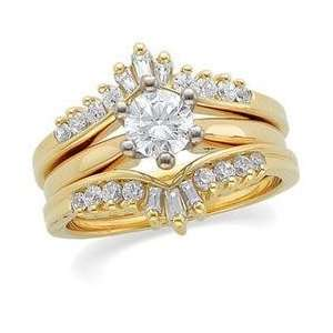 14K Yellow Gold Diamond Ring Guard: Everything Else