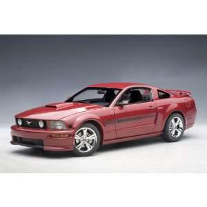2007 Ford Mustang GT California Special 1/18 Red Fire