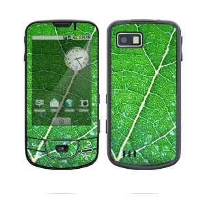 Samsung Galaxy (i7500) Decal Skin   Green Leaf Texture