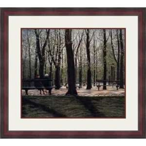 Central Park View by Harold Altman   Framed Artwork Home & Kitchen
