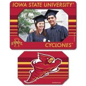 Iowa State Cyclones Magnet   Die Cut Horizontal Sports