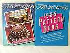Wilton Cake Decorating & Pattern Book 1985 Pan Mold