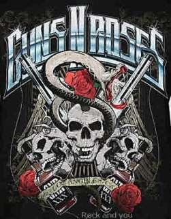 GUNS N ROSES Bottles punk rock metal T Shirt M L XL NWT