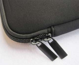 Black Laptop Sleeve Bag Cover Case W/4 Straps For HP DELL Sony