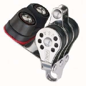 Harken Triple Micro Block w/Cam Cleat & Becket: Sports & Outdoors