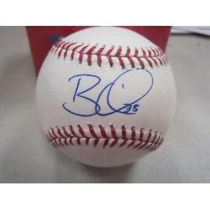 Signed Brian Wilson Baseball   M l W jsa   Autographed