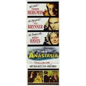 Insert 14x36 Ingrid Bergman Yul Brynner Helen Hayes