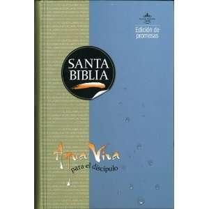 Santa Biblia Rvr 1960 Aqua Viva Para El Discipulo (Spanish