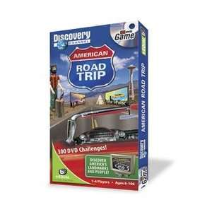 Discovery Channel American Roadtrip DVD game Toys & Games