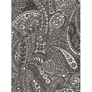Sch 5003192 Paisley Print   Espresso Wallpaper Home Improvement