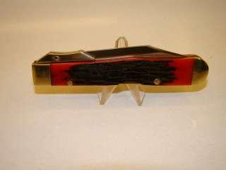 Remington RM18988 Bullet Knife Renegade Red Jigged Bone