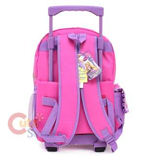 Disney Princess Tangled Rapunzel School Roller Backpack Rolling 4
