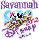 Disney World Vacation Personalized T shirt Iron on Transfer Decal