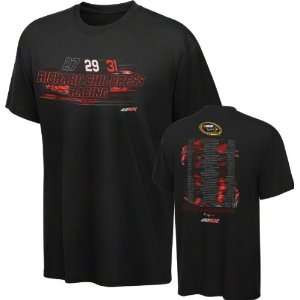 Richard Childress Racing Black Qualifier T Shirt Sports