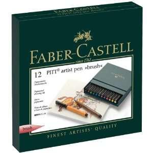 Faber castell Pitt Artist Brush Pens 12/pkg assorted