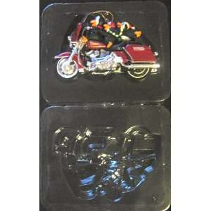 Harley Davidson Ornament Collection Three for the Road