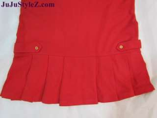 Kids Wear Girls Long Sleeve Dress Red, Navy Blue NWT size S M