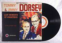 TOMMY & JIMMY DORSEY Last Moments of Greatness Volume 3