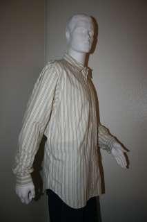 EMPORIO ARMANI Giorgio Men Dress SHIRT Sz L 17/43