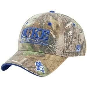 The Game Duke Blue Devils Camo 3D Bar Hat Sports