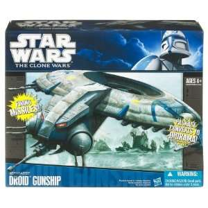 Hasbro Star Wars Clone Starfighter Vehicle   Droid Toys