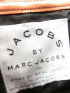 JACOBS MARC JACOBS Metallic Orange Quilted Tote Handbag