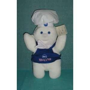 Pillsbury 1998 Dough Boy Giggling Plush (15) Toys