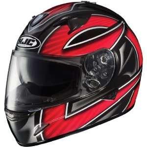 HJC IS 16 Ramper Full Face Motorcycle Helmet MC 1 Red Large L 0813