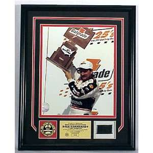 Dale Earnhardt Sr. Race Used Tire PhotoMint Sports