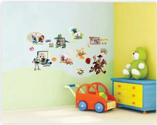TOY STORY PHOTO FRAMES KIDS Adhesive Removable Wall Decor Accents